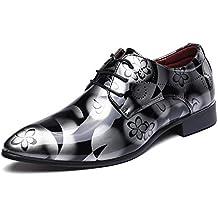 Pepe Jeans London Derry Suede, Zapatos de Cordones Oxford para Hombre, Gris (Grey), 41 EU