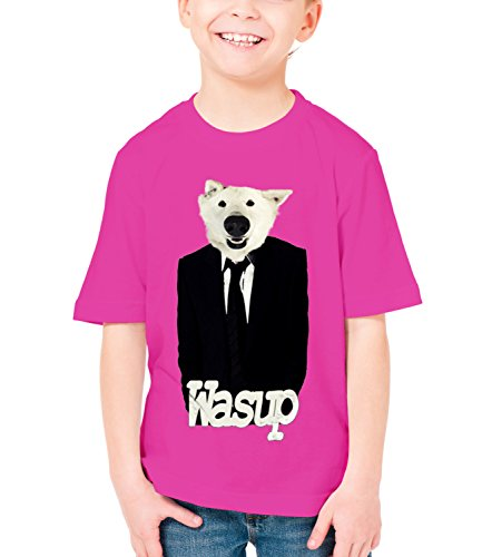 Three Monkeys Dog In Suit Animals Collection Boys Classic Crew
