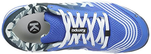 Kempa Attack Two, Scarpe da Basket Unisex – Adulto Blu (04)