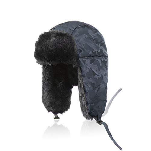 24e91c5a3a3 Aurya Winter Trapper Trooper Hat Unisex Ushanka Aviator Russian Hat Outdoor  Hunting Skiing Hat cap with