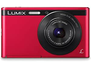 Panasonic Lumix DMC-XS1 16.1 MP Point and Shoot Camera (Red) with 5x Optical Zoom