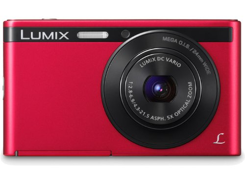 Panasonic Lumix DMC-XS1 Point & Shoot Camera (Red)