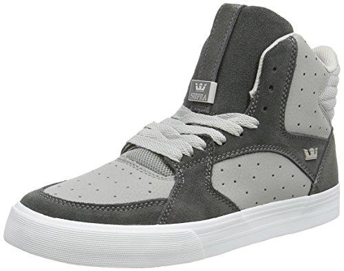 Supra Vaider 3000, Unisex Adults' Hi-Top Sneakers, Grey (Light Grey/Grey – Off White Gry), 11 UK (46 EU)
