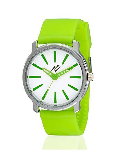 Yepme Jelet Men's Watch - White/Green - YPMWATCH1817 image