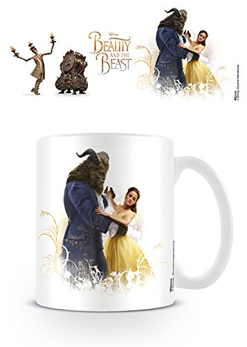 Beauty and The Beast Movie Taza de cerámica con diseño de la película La Bella y la Bestia