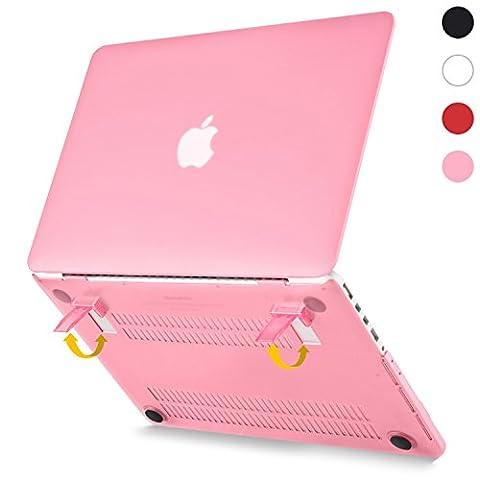 Beatunes Patentierte 2-in-1 Ultra Slim Mattierte Hartschale Schutzhülle mit Faltbarem Ständer für Apple MacBook Pro Retina 13