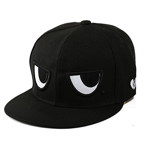 Healthy Clubs Neuheit Verstellbare Baseballmütze Mütze Augen Muster Snapback Hip-Hop (Hop Kostüm Hip Jungen)