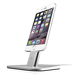 Twelve South HiRise for iPhone/iPad Mini-brushed Metal Stand Designed to Work with your Apple Lightning Cable