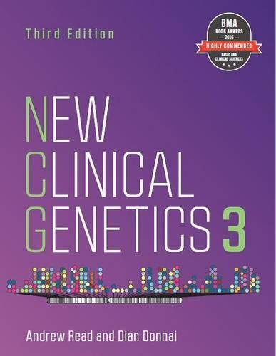 New Clinical Genetics : Volume 3 par Andrew Read