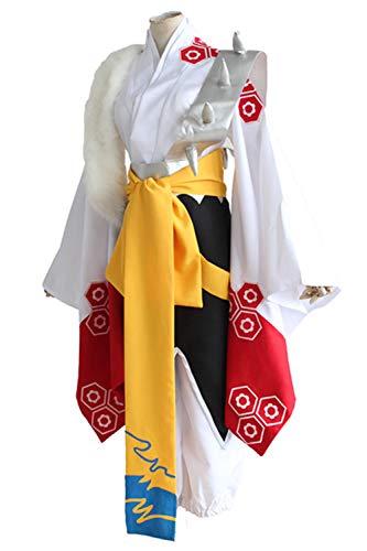 Kostüm Inuyasha - RedJade Anime Inuyasha Sesshomaru Cosplay Kostüm Herren XL