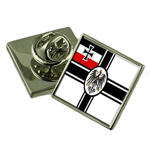 WW1 Navy Ensign Militairy Deutschland Fahne Ehrennadel graviert Box (Clip Navy Tie Clip)
