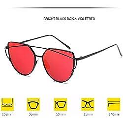 SSB Damen Sonnenbrille rot rot
