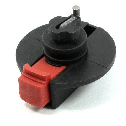 sourcing map Bohrmaschine Ersatzteil Drehschalter für Bosch PA6-GF35 Kunststoff Rot, Schwarz