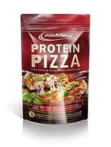 IronMaxx Protein Pizza - Backmischung mit 48% Eiweiß und nur 22%...