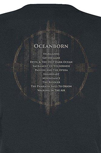 ... Nightwish Oceanborn - Decades Girl-Shirt Schwarz Schwarz ...