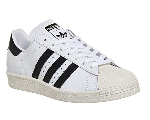 adidas Superstar 80 S Damen Sneaker Weiß Adidas Weiß Basketball-schuhe