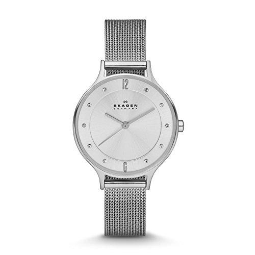 Skagen SKW2149P - Reloj (Reloj de pulsera, Femenino, Acero inoxidable, Plata, Acero inoxidable, Plata)