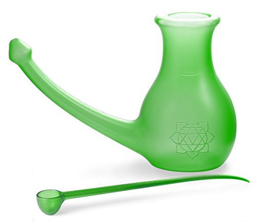 Scandinavian Yoga and Meditation School Nosebuddy - Botella para limpieza...