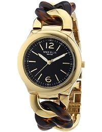 Mike Ellis L3079AGM/1 - Reloj analógico de cuarzo para mujer, correa de aleación color dorado