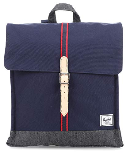Mochila Herschel City Mid-Volume Peacoat/Dark Denim - Offset