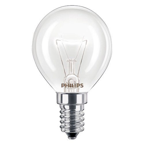2 x Philips Ofen 40 W, SES, E14, kleines Schraubgewinde, 300â° Herd Leuchtmittel, passend für: AEG, BOSCH/Siemens/Neff/Hotpoint