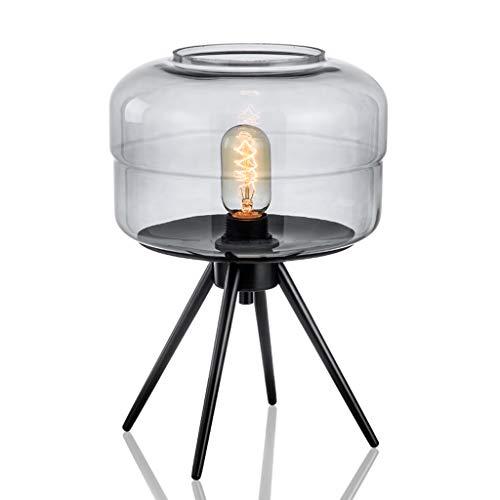 QIYINGYING Glas kleine Tisch Lampe einfache Moderne Moderne nordische kreative Kunst Designer Modellzimmer-Zimmer führte Auge Protektor Wohnzimmer-Lampe b