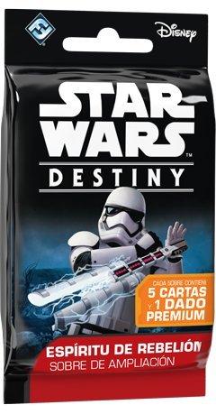Star Wars Destiny. Espíritu de rebelión sobre de ampliación