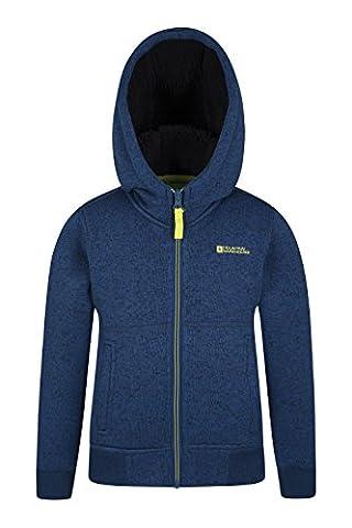 Mountain Warehouse Sweat-shirt à capuche Fille Garçon enfant Intérieur fourrure