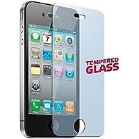 Muvit MUGLASSIP4 - Protector de pantalla (Apple, iPhone 4/4S, Resistente a arañazos, Transparente, 1 pieza(s))