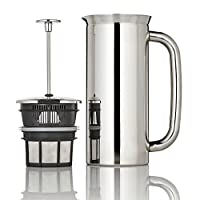 Espro Coffee Press P7-32 oz, Vacuum Insulated, Polished Stainless Steel