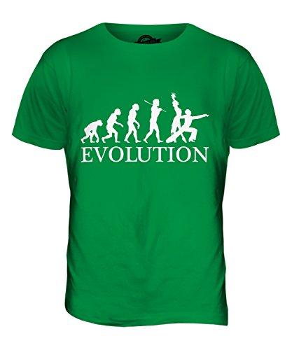 CandyMix Rumba Tanzen Evolution Des Menschen Herren T Shirt Grün
