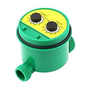 Gartenbewässerungs-Controller mit zwei Dial-Anzeigen für den Hauswasser-Timer 1-16 Programme einstellen