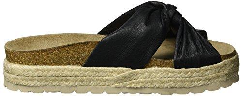 Shoe Biz Denniz, Ciabbatte Donna Nero (Leather Black)