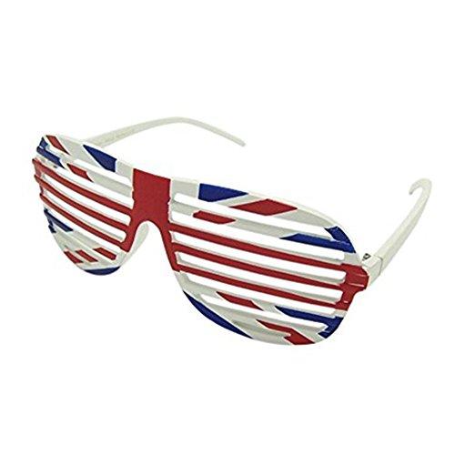 eorge Atzenbrille für WM Euro Six Nations oder Weltcup (Uk National Kostüm Für Kinder)