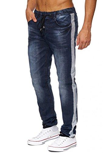 Jeans JoggJeans Backyard Freestar ID1242 hommes Slim Fit (de jambe droite) Blau