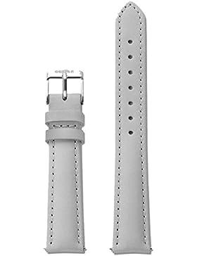 Cluse Damen Uhrenarmband Leder Minuit Grau/Silber CLS320