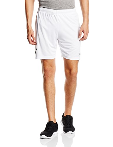 Kempa Teamsport Circle – Pantaloni corti, colori assortiti Bianco (Weiß/schwarz)