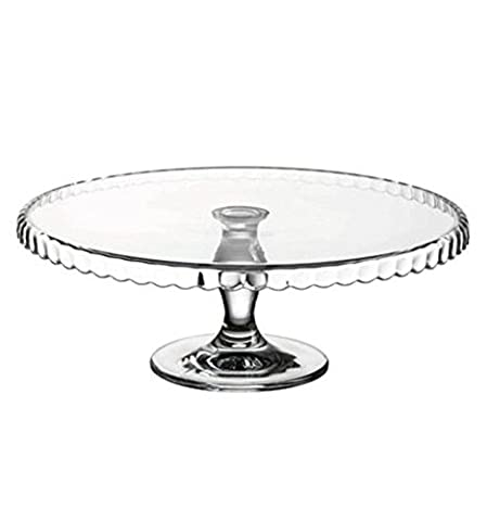 Patisserie Downturn Glass Footed Serving Plate Cake Stand Wedding Birthday