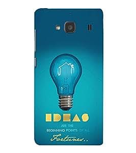 EPICCASE Ideas Mobile Back Case Cover For Mi Redmi 2 (Designer Case)
