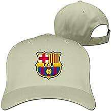 huseki TLK Fashion Barcelona Logo Unisex Gorra de béisbol Adult tiene Ash Natural