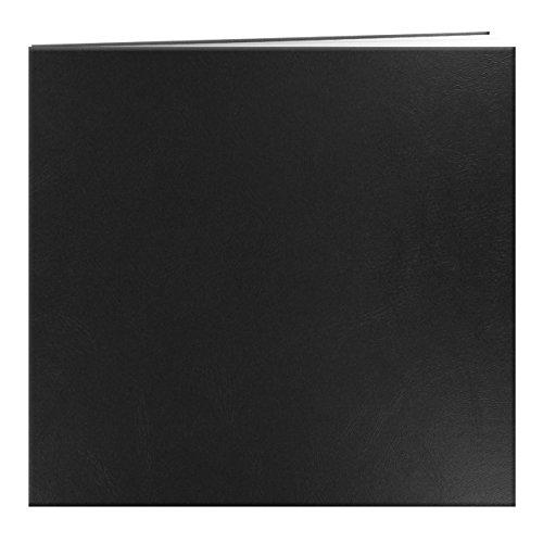 pioneer-12-x-12-inch-leatherette-post-bound-album-black