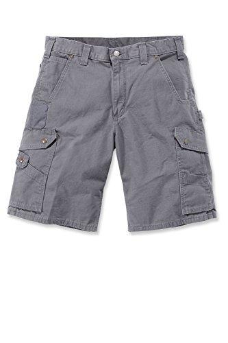 Carhartt RipStop Cargo Shorts Farbe:-Gravel Gr:-W32