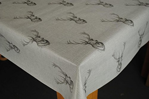 highland-stag-grey-pvc-200-x-140cm-wipe-clean-tablecloth-by-karina-home