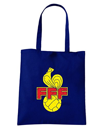 T-Shirtshock - Borsa Shopping WC0360 FRANCE T-SHIRT - FFF Blu Navy