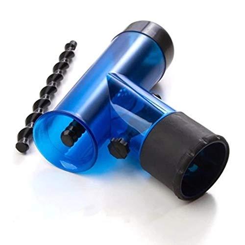 Tamaño portátil Secador de pelo difusor mágico del viento hace girar  desmontable de secadores de pelo d7e08c3ae4b3