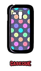 Caseque Jazz Dots Back Shell Case Cover For Samsung Galaxy S3 Mini