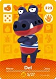 Del - Nintendo Animal Crossing Happy Home Designer Amiibo Card - 223 by Nintendo