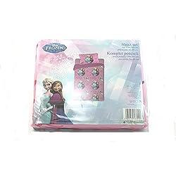 Disney Frozen Juego sábana + Almohada 1plaza microfibra rosa