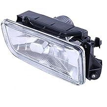 Demino 63178357390 Lado Derecho Luz de Niebla Sin Bombillas de Repuesto de automóviles de BMW E36