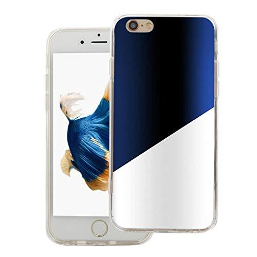 Huhuswwbin Fashion Zwei Farbe Kunststoff Handy Rückseite Fall für iPhone 5C, 5S x 678Plus-1# für iPhone 4/4S (Vuitton Fall Louis 4 Handy Iphone)